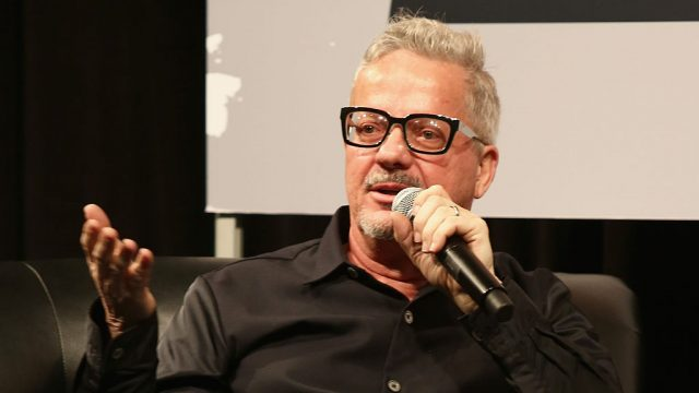 Mark Mothersbaugh speaks onstage at SXSW Interview: Mark Mothersbaugh during the 2016 SXSW Music, Film + Interactive Festival at Austin Convention Center on March 17, 2016 in Austin, Texas.