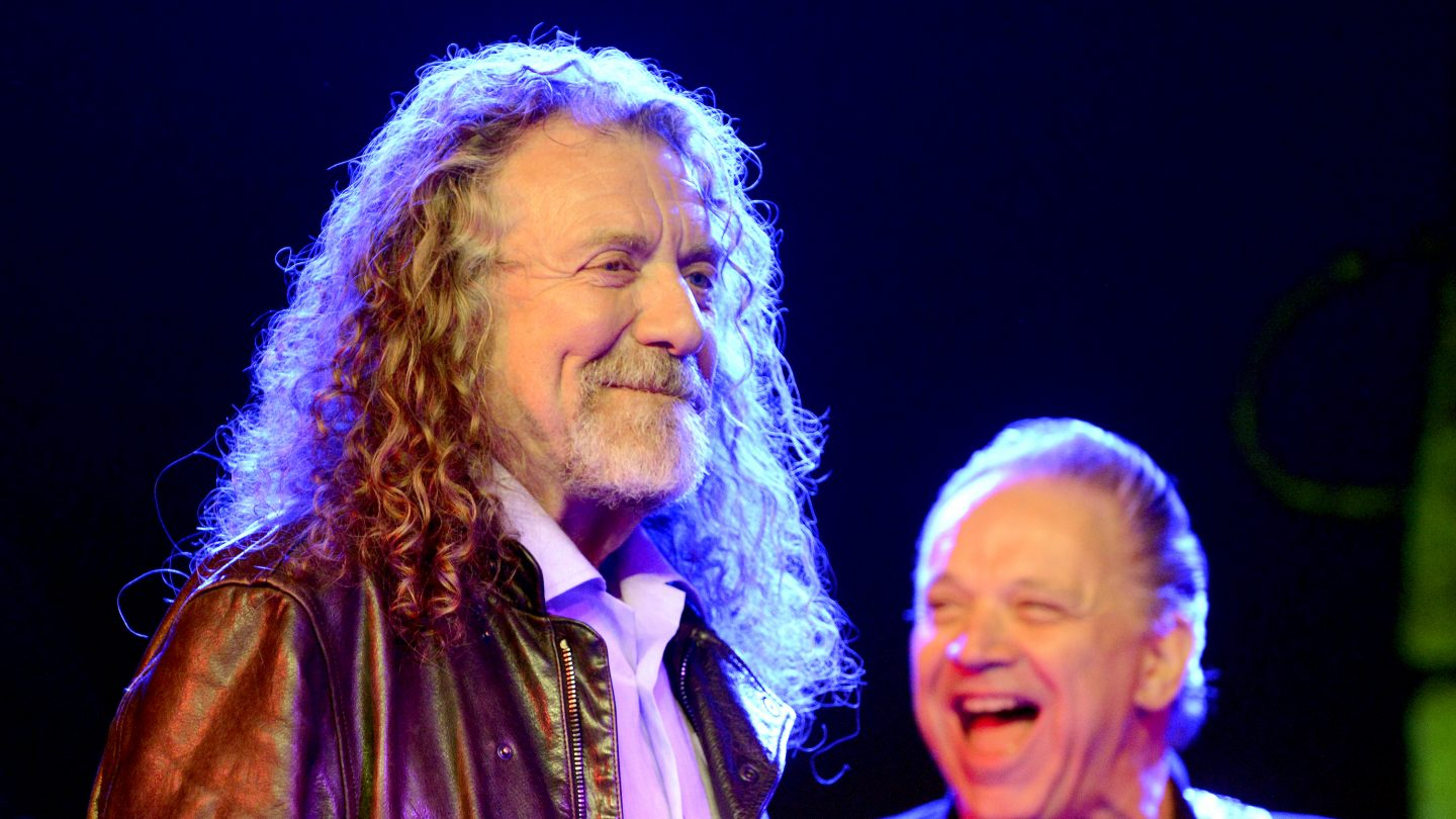 Robert Plant and Jimmie Vaughan