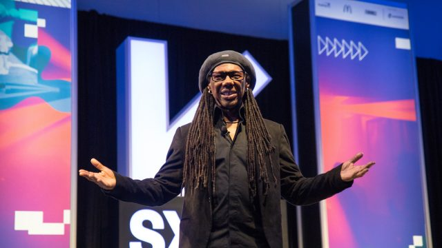 Music Keynote: Nile Rodgers - Photo by Tyler Draker