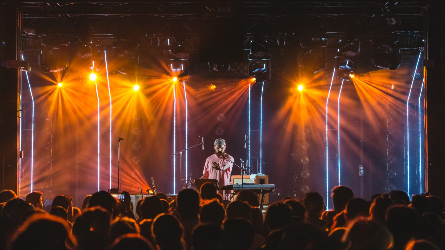 Jack Garratt at HypeHotel during SXSW Music 2016. Photo by Justin Yee.