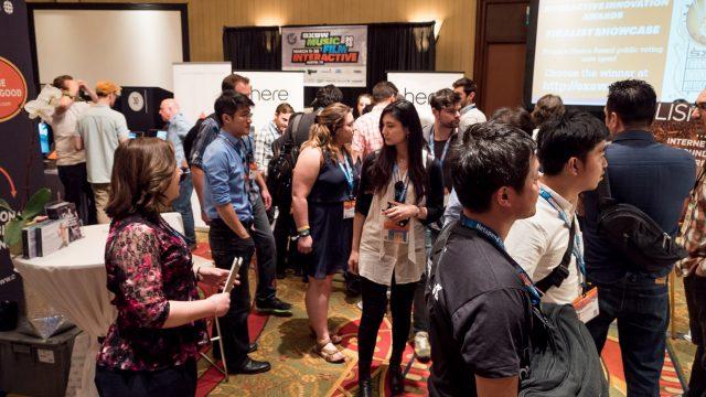 SXSW Interactive Innovation Awards, Finalist Showcase - SXSW Exhibitions - 2016. Photo by Chris Van Loan II