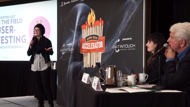 Spotlight of SXSW Accelerator 2016