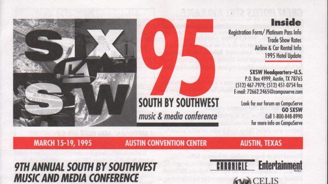 SXSW 1995 Brochure
