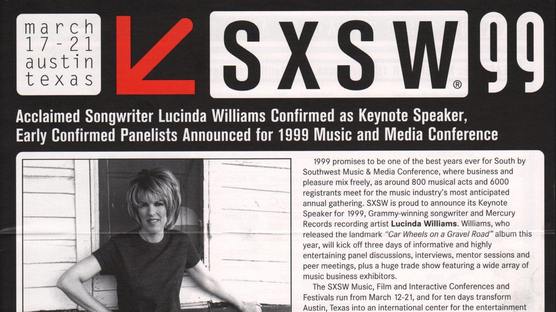 SXSW 1999 Brochure