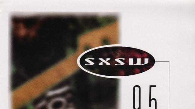 SXSW 1995 Poster