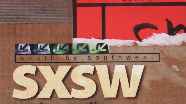 SXSW 1996 Poster