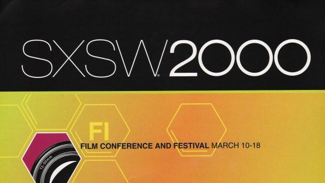 SXSW 2000 Poster