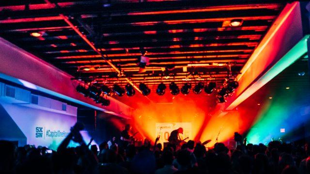 SXSW Sponsorship - Capital One. Photo by Sara Marjorie Strick