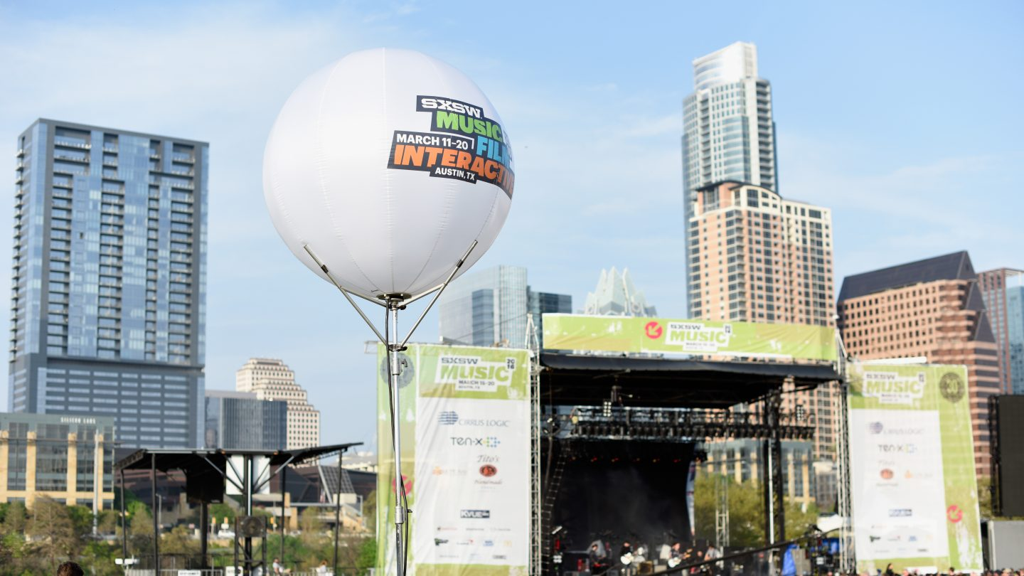 SXSW Outdoor Stage at Lady Bird Lake photo by Sean Mathis/Getty Images