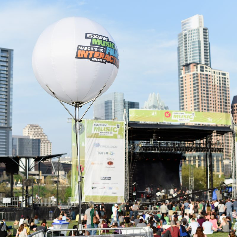 SXSW Outdoor Stage at Lady Bird Lake