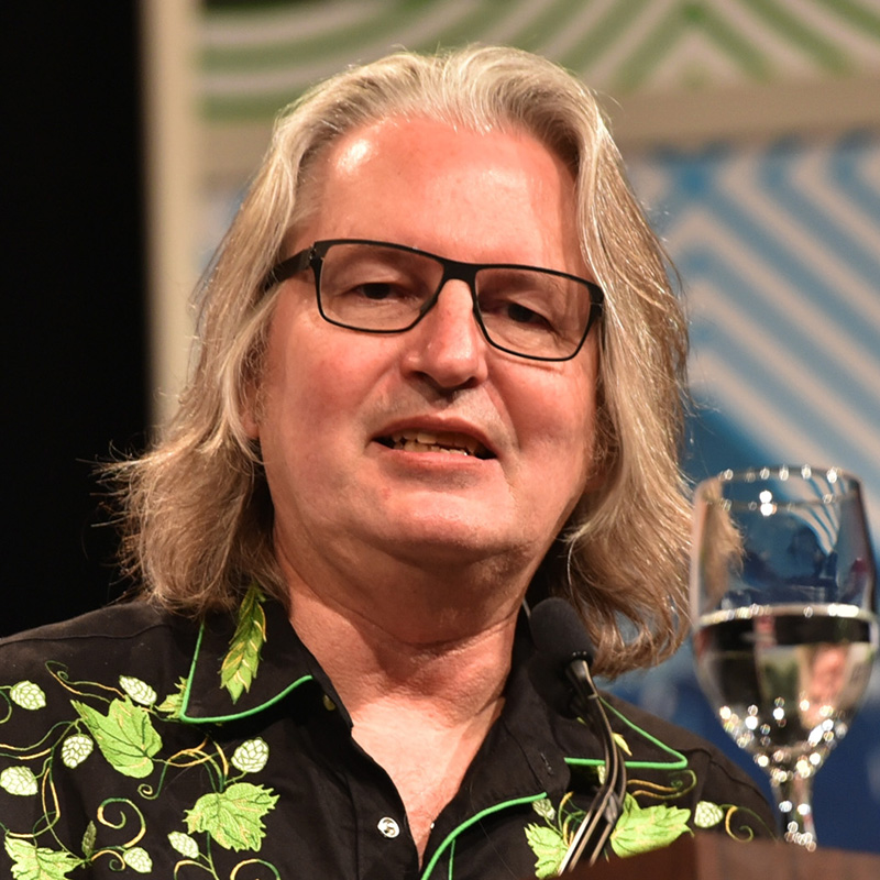 Author Bruce Sterling speaks at 'Bruce Sterling Closing Talk' during the 2015 SXSW Music, Film + Interactive Festival at Austin Convention Center on March 17, 2015 in Austin, Texas. (Photo by Amy E. Price/Getty Images for SXSW)