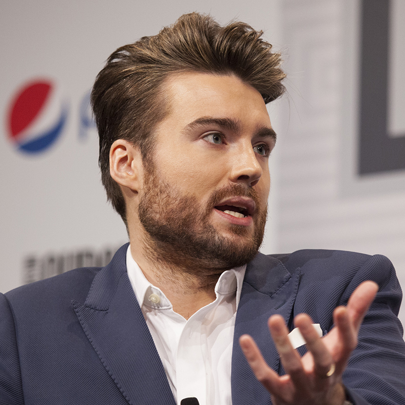 Pete Cashmore at SXSW 2014. Photo by Sam Burkardt