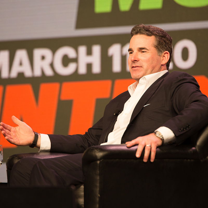 Kevin Plank Interactive Keynote at SXSW 2016. Photo by Michael Caufield.