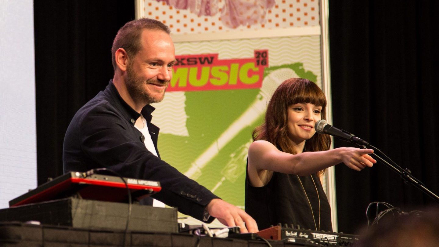 Chvrches photo by Christopher McNeil