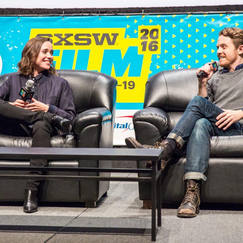 SXSW Film 2016 - Ellen Page & Ian Daniel