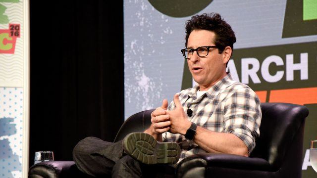 JJ Abrams speaks onstage at
