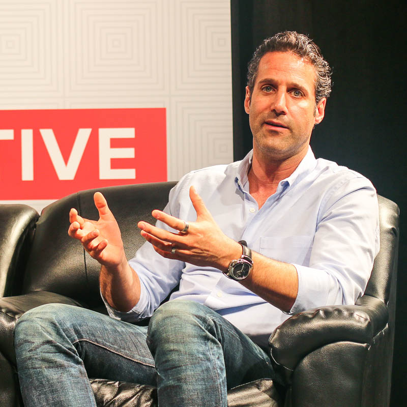 Jason Rubin at SXSW Trailblazers in VR Domain. Photo by William Josma