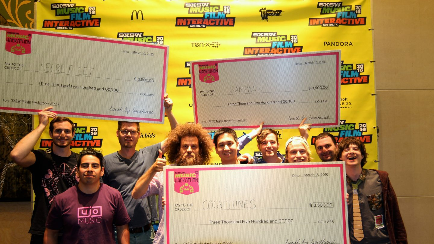 2016 SXSW Music Hackathon Winners