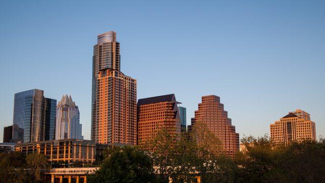 Austin, Texas skyline photo by Tim Strauss.