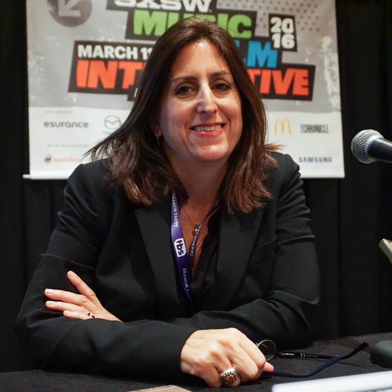 Nonny de la Pena at SXSW 2016. Photo by Ziv Kruger