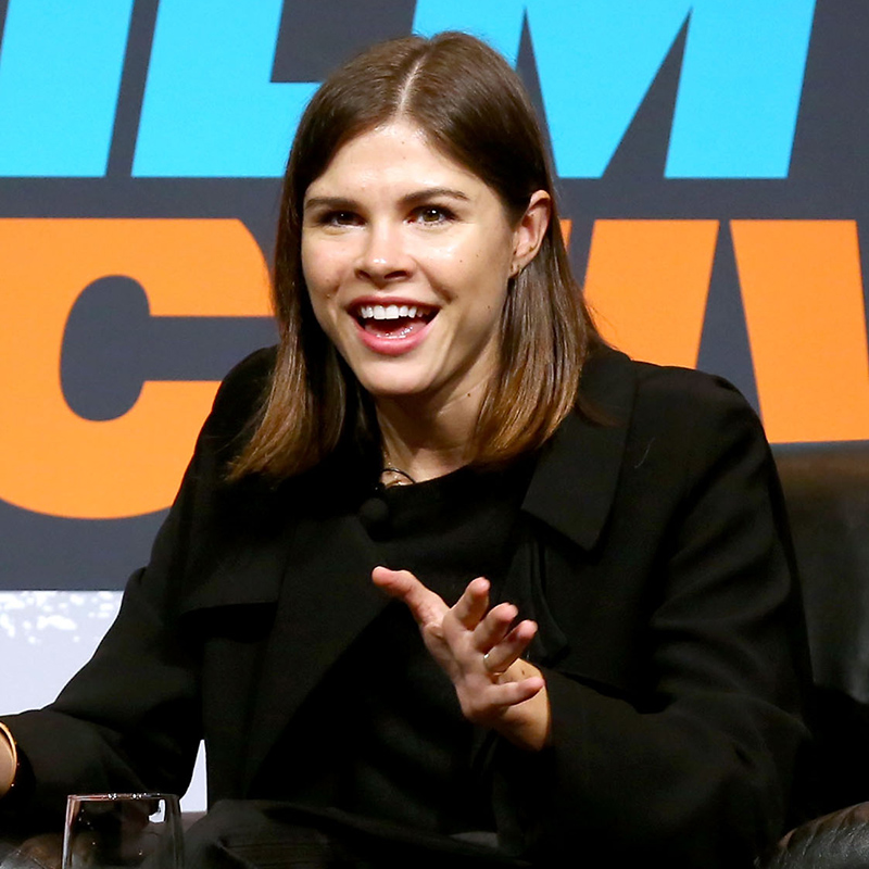 Emily Weiss, founder and CEO of Glossier speaks onstage at