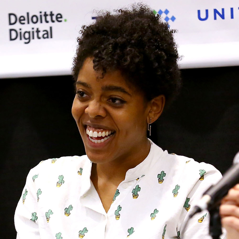Madison Maxey at 'Why Art Needs Science: Fashion and Tech's Future' during the 2016 SXSW Music, Film + Interactive Festival at Westin Austin Downtown on March 13, 2016 in Austin, Texas. (Photo by Diego Donamaria/Getty Images for SXSW)