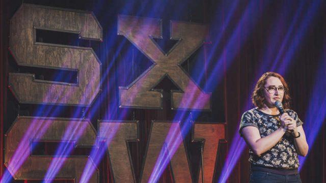 Emily Heller | SXSW Comedy on Showtime  | SXSW Comedy With Natasha Leggero | SXSW 2016 . Photo courtesy Showtime.