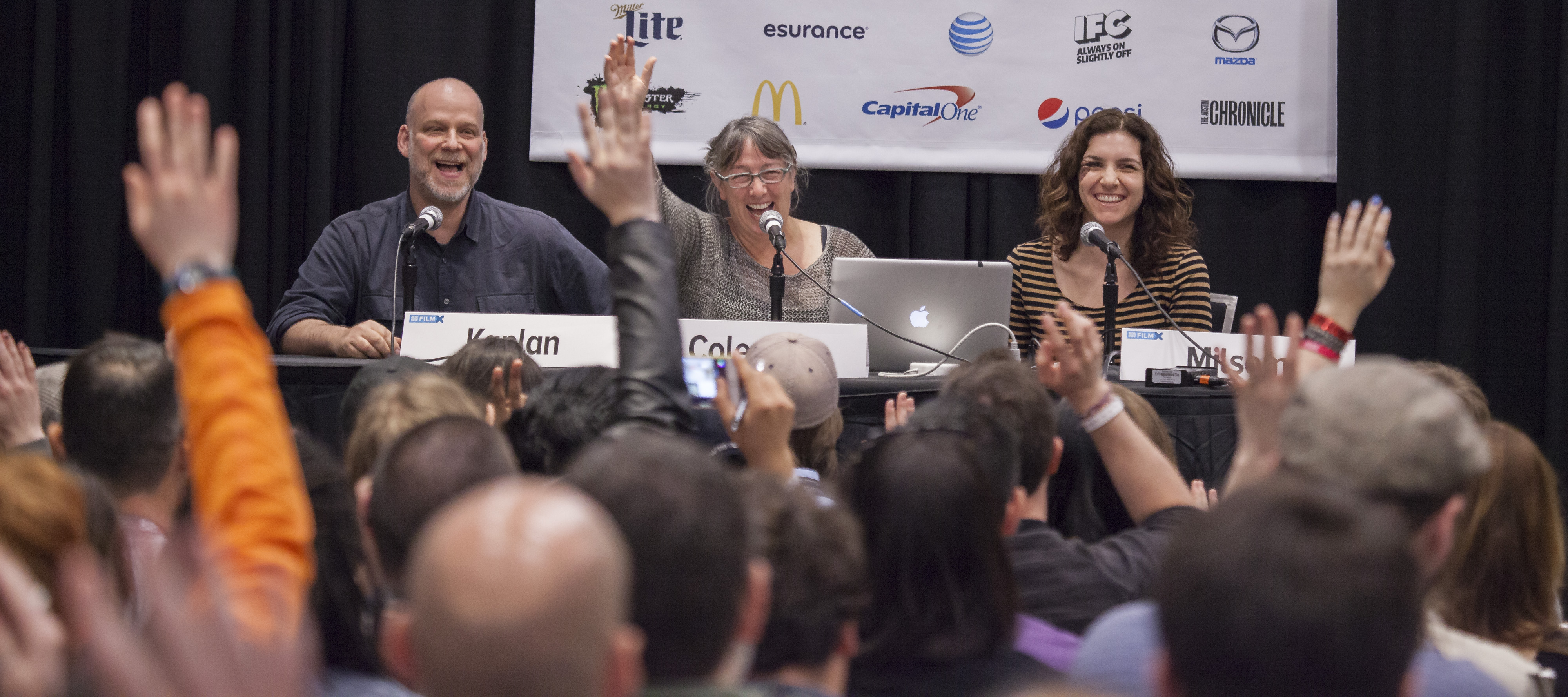 Audience at SXSW Conference session 2015. Photo by Sam Burkardt