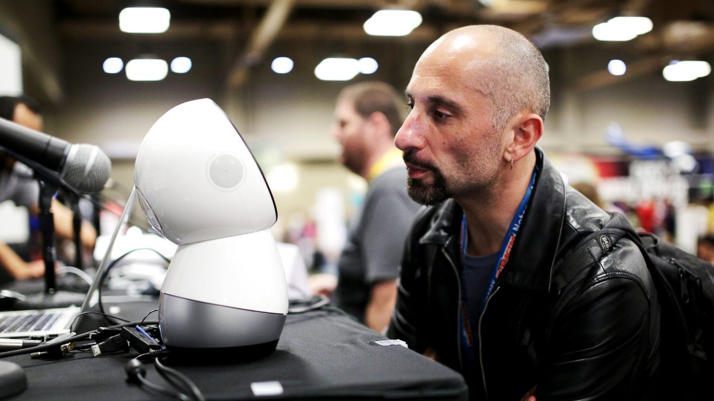 Audience members at 'A Robot Companion: Human's Best Friend?' during the 2016 SXSW Music, Film + Interactive Festival at Palmer Events Center on March 12, 2016 in Austin, Texas. Photo by Heather Kennedy/Getty Images