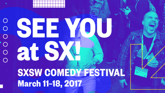See You at SX! Comedy Facebook