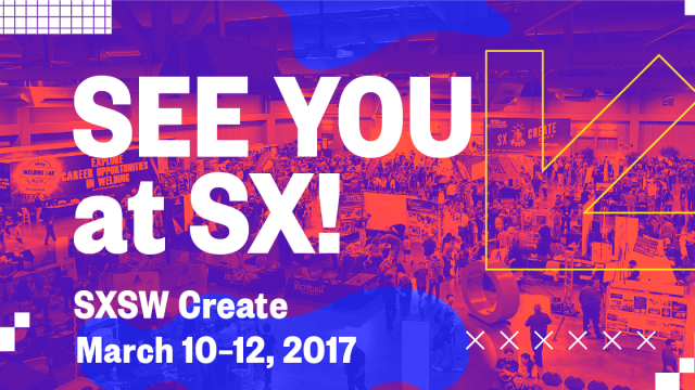 See You at SX! SXSW Create Facebook