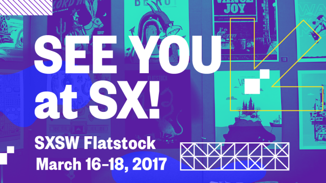 See You at SX! Flatstock Facebook
