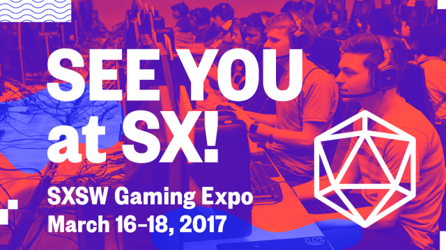 See You at SX! Gaming Expo Facebook