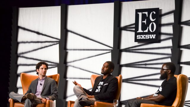 SXSW Eco 2016 – Keynote Conversation: Designing a Just City - Hip Hop Architecture – Photo by Nicole Burton
