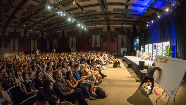Bill Nye Keynote: The Optimistic View for Merging Energy and Climate Policies – Photo by Steve Rogers