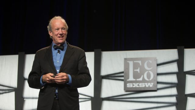 2016 SXSW Eco – William McDonough Keynote – Cradle to Cradle, The Circular Economy and The Carbon Positive City – Photo by Steve Rogers