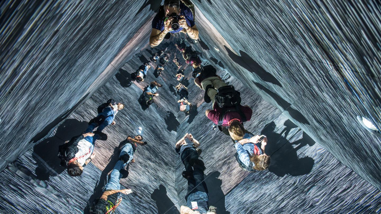 Infinity Room by Refik Anadol - Photo by Merrick Ales