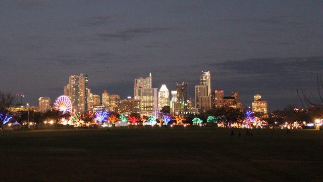Austin, Texas skyline and Trail of Lights - Photo by Jordan Roberts