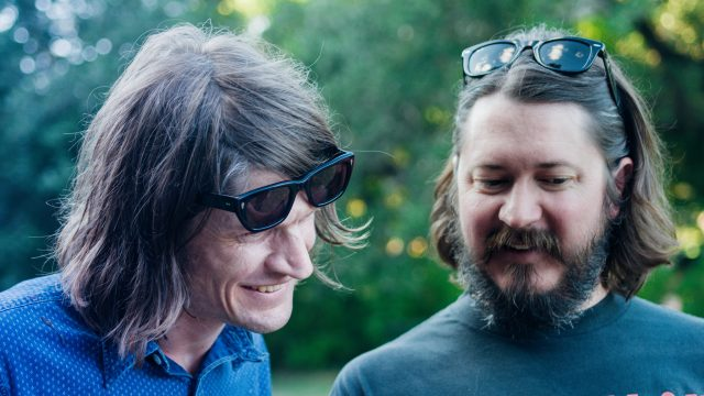Christian Bland and Kyle Hunt of The Black Angels