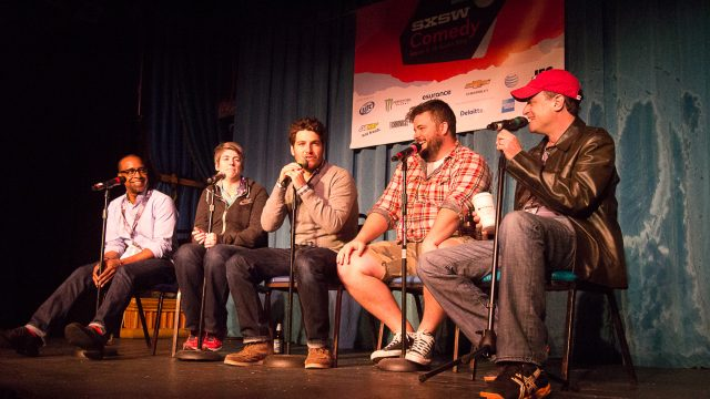 SXSW Podcast Stage
