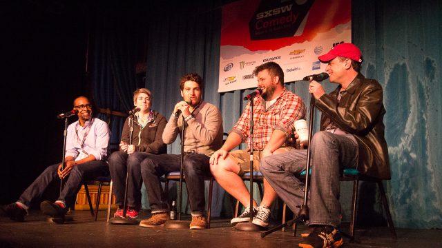 SXSW Podcast Stage