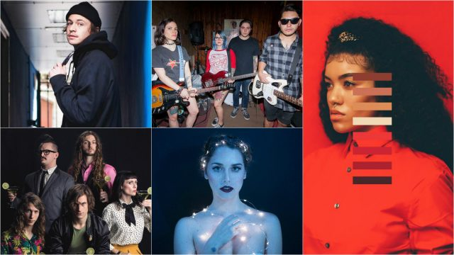 2017 Showcasing Artists Max Abysmal, SlowKiss, Sam Lao, Gala Brie, and The Outer Vibe