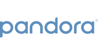 Pandora official music sponsor logo