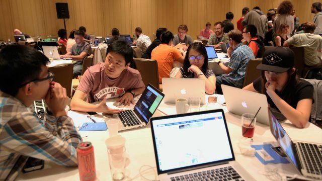 Hackathon photo by Randy Smith