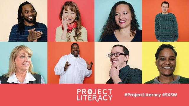 Project Literacy SXSW