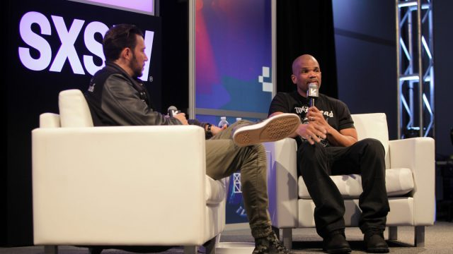 """A Conversation With DMC"" Featured Session at the 2017 SXSW Conference - Photo by James Goulden"