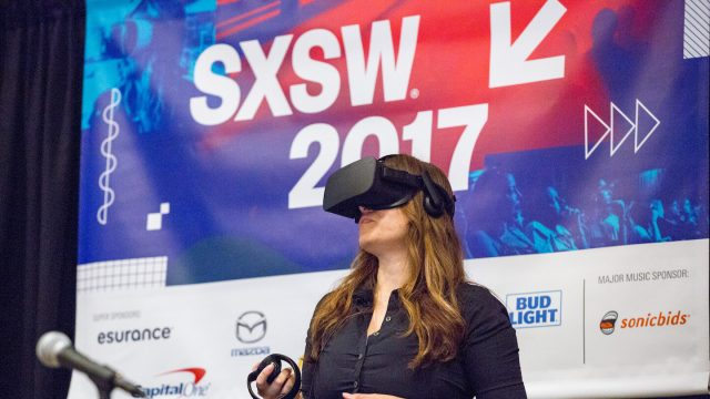 VR/AR Session during SXSW 2017 - Photo by Akash Kataria