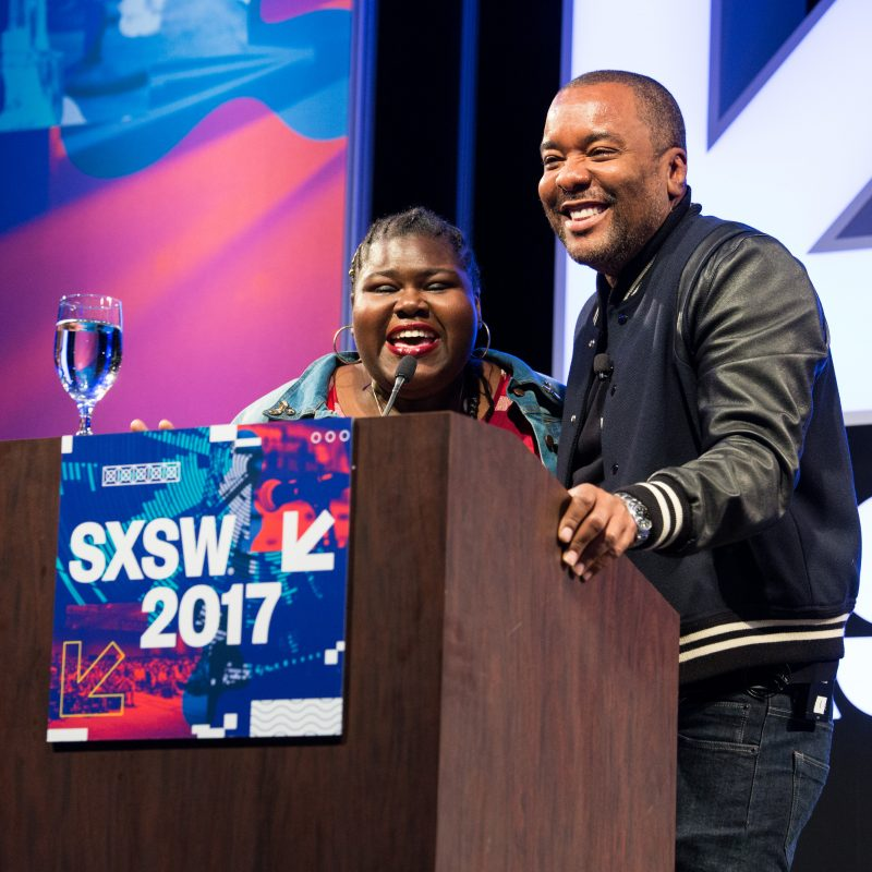 2017 SXSW Keynote, Lee Daniels with Gabourey Sidibe - Photo by Errich Petersen