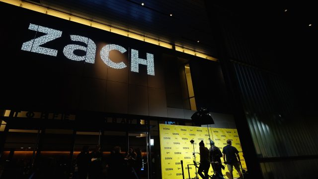 AUSTIN, TX - MARCH 10: A general exterior view of the ZACH Theatre during the premiere of