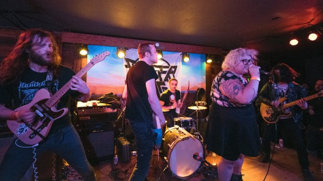 2017 SXSW Showcasing Artist, Sheer Mag – Photo by Alejandro Mendoza